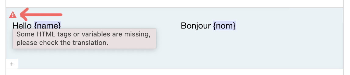 Syntax Highlighting warning on Translation.io